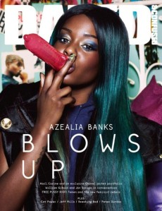 Azealia's controversial Dazed & Confused cover